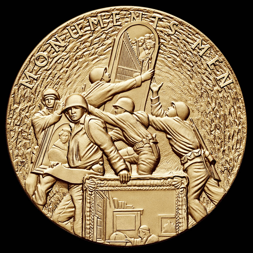 Monuments Men Congressional Gold Medal Awarded | Coin News