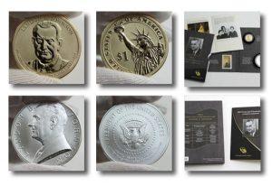2015 Lyndon B. Johnson Coin and Chronicles Set Photos