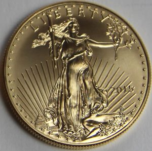 2015 American Eagle gold bullion coin