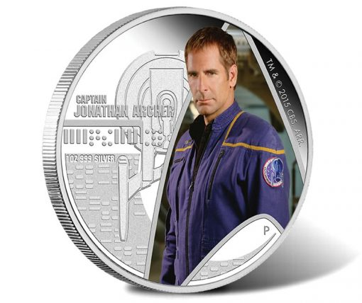 2015 Captain Archer Silver Coin
