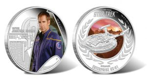 Star Trek's Captain Archer and Enterprise Featured on Coins