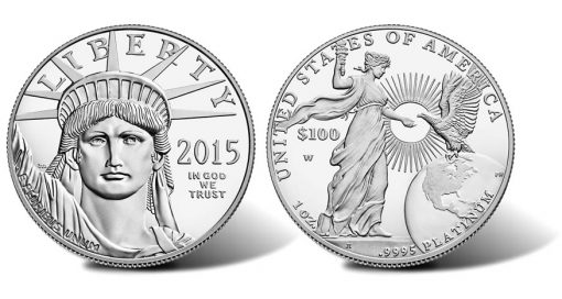 2015-W Proof American Platinum Eagle