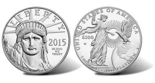 2015-W Proof American Platinum Eagle