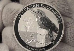 2016 Australian Kookaburra 1 oz Silver Bullion Coin