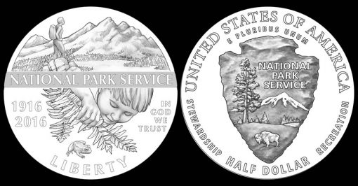 2016 National Park Service Half-Dollar Designs