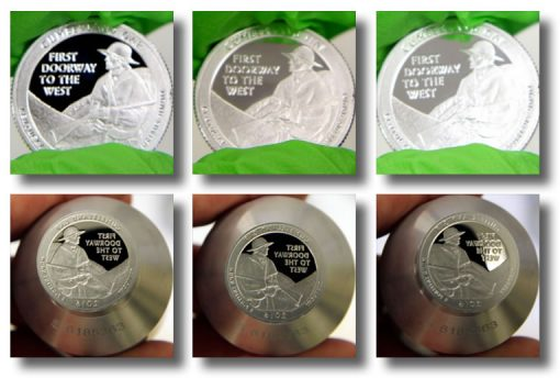 2016-S Proof Cumberland Gap National Historical Park Quarter and Die Photos