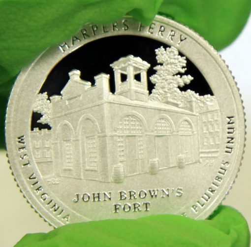 2016-S Proof Harpers Ferry National Historical Park Quarter