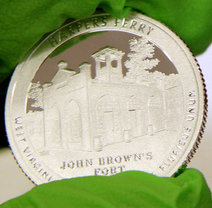 2016-S Proof Harpers Ferry National Historical Park Quarter, a