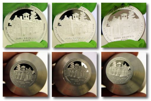 2016-S Proof Harpers Ferry National Historical Park Quarter and Die Photos