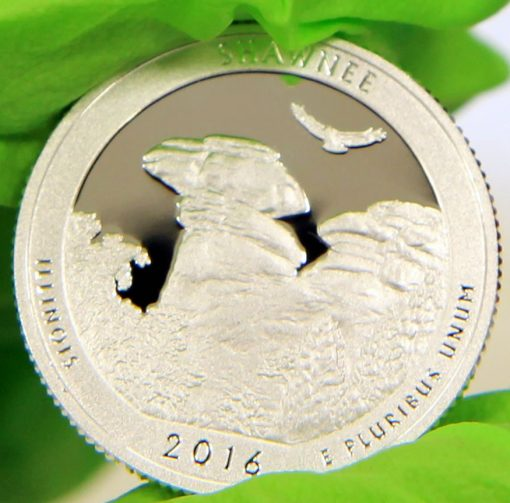2016-S Proof Shawnee National Forest Quarter
