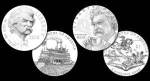 2016 Mark Twain Commemorative Coin Designs