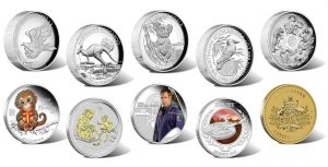 Australian Silver Coins and Products for November