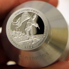 Proof die for 2016-S Fort Moultrie Quarter, b