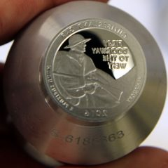 Proof die for 2016-S Proof Cumberland Gap National Historical Park Quarter, b