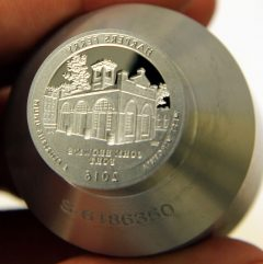 Proof die for 2016-S Proof Harpers Ferry National Historical Park Quarter, b