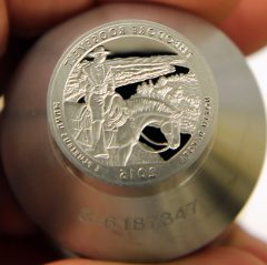 Proof die for 2016-S Proof Theodore Roosevelt National Park Park Quarter