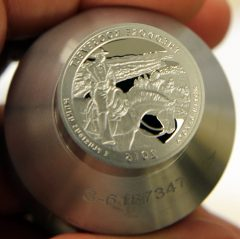 Proof die for 2016-S Proof Theodore Roosevelt National Park Park Quarter, b
