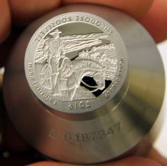 Proof die for 2016-S Proof Theodore Roosevelt National Park Park Quarter, d