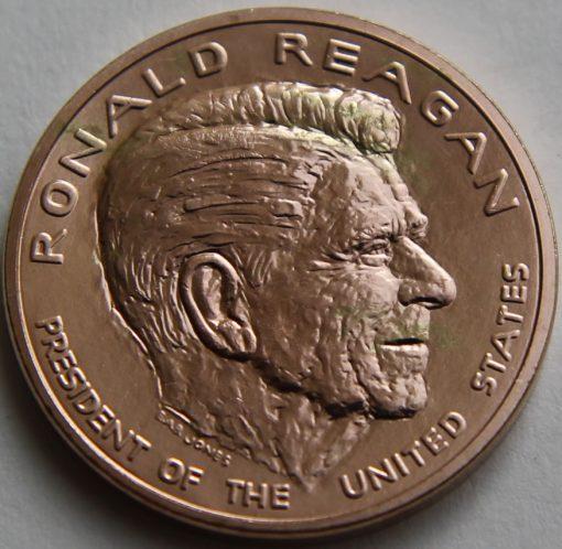 Ronald Reagan Bronze Medal, Obverse