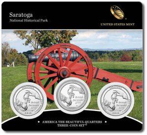 Saratoga National Historical Park Quarters Three-Coin Set