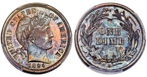 1894-S Barber Dime Headlines Heritage January FUN Sale