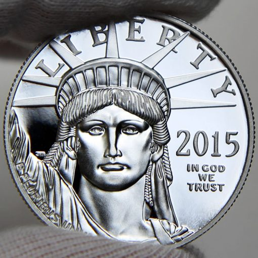 2015 Proof American Platinum Eagle, obverse-b