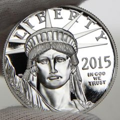 2015 Proof American Platinum Eagle, obverse-f