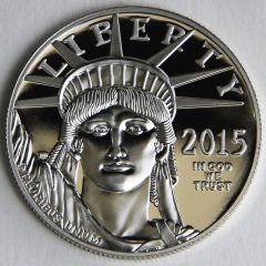 2015 Proof American Platinum Eagle, obverse-g123