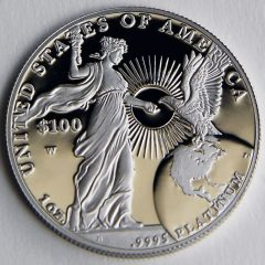 2015 Proof American Platinum Eagle, reverse-g
