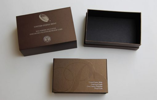2015-W $100 Proof American Platinum Eagle - Packaging