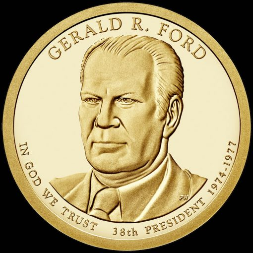 2016 Gerald R. Ford Presidential $1 Coin Design