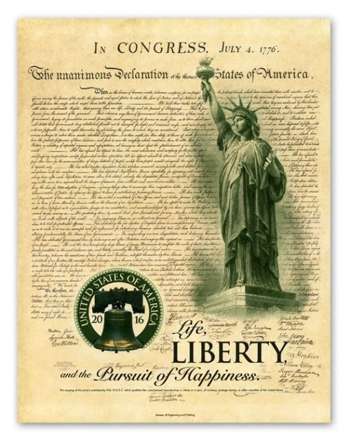 2016 Liberty Intaglio Print from Independence Collection