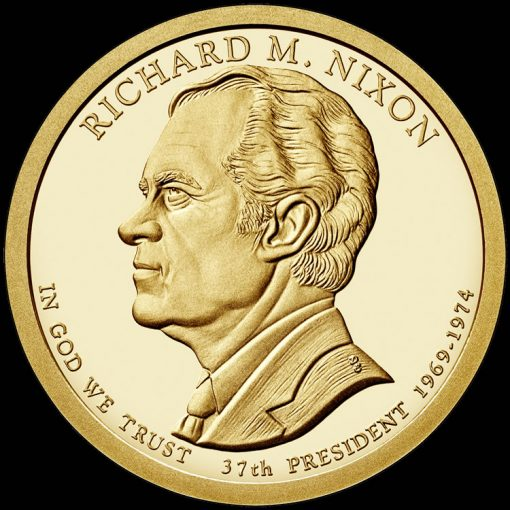 2016 Richard M. Nixon Presidential $1 Coin Design