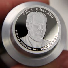 2016-S Gerald R. Ford Presidential $1 Coin Die, d