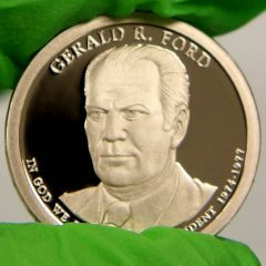 2016-S Proof Gerald R. Ford Presidential $1 Coin, a