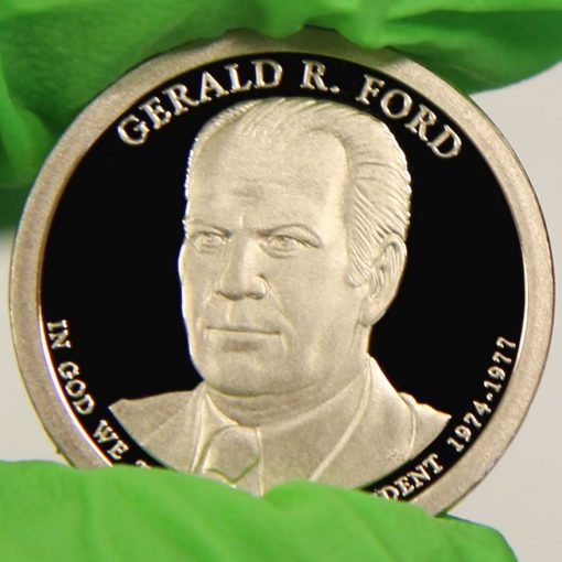 2016-S Proof Gerald R. Ford Presidential $1 Coin, b