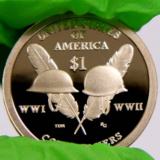 2016-S Proof Native American $1 Coin, a