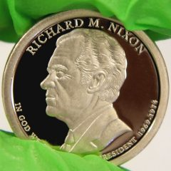 2016-S Proof Richard M. Nixon Presidential $1 Coin, b