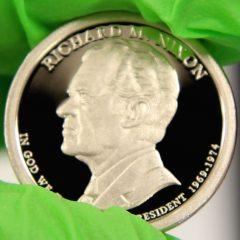 2016-S Proof Richard M. Nixon Presidential $1 Coin, d
