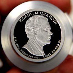2016-S Richard M. Nixon Presidential $1 Coin Die, a