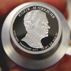 2016-S Richard M. Nixon Presidential $1 Coin Die, c