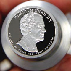 2016-S Richard M. Nixon Presidential $1 Coin Die, d