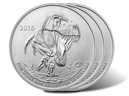 Canadian 2016 $20 for $20 Silver Coins