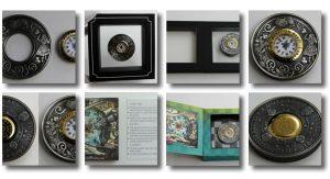 Alice in Wonderland Clock Coin