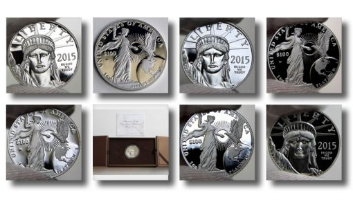 Photos of 2015-W $100 Proof American Platinum Eagle