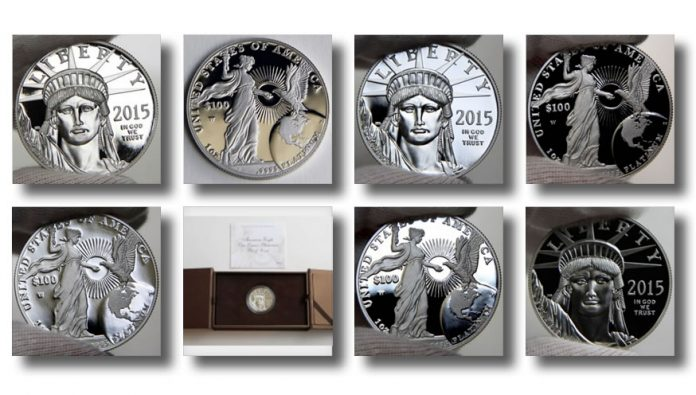 Photos of 2015-W $100 Proof American Platinum Eagle