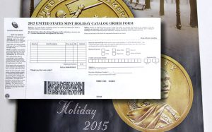 US Mint Mail Order Form
