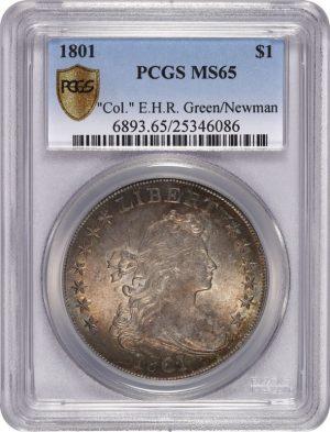 1801 $1 Newman