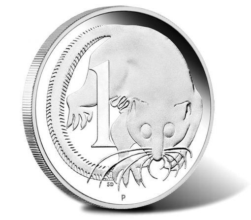 2016 1 oz Silver Replica 1 Cent Coin