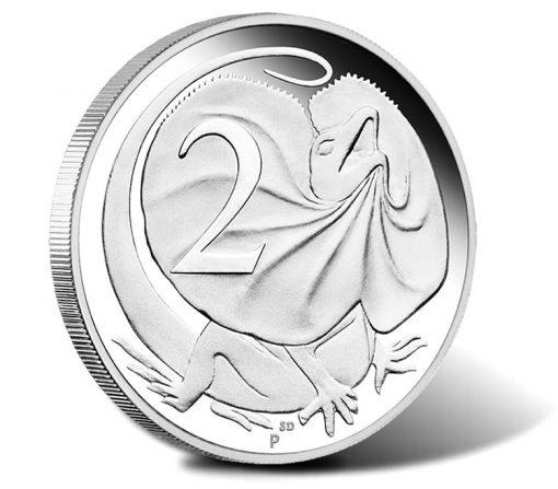 2016 1 oz Silver Replica 2 Cent Coin